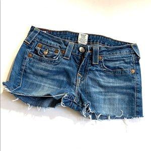 True Religion | Jeans Shorts (k)